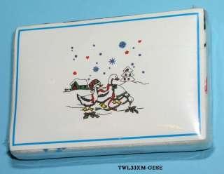 Geese Magic Towel washcloth Xmas stocking gift basket