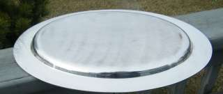 ANTIQUE ROGERS SILVER FENWICK 18 SERVING TRAY PLATTER