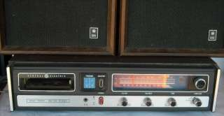 General Electric SC 2205B AM/FM Radio,8 Track Receiver