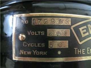 Antique Vintage Rare Emerson Osc Electric Fan Restored