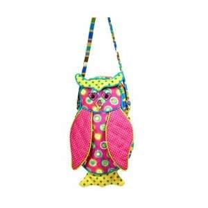 Spring Meadow Owl Purse 10 by Douglas Cuddle Toys Toys