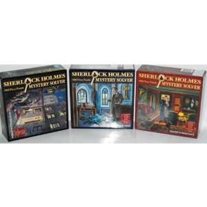 SHERLOCK HOLMES MYSTERY SOLVER PUZZLE Toys & Games