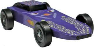 Pinewood Derby Car Comet Pre Cut Car Block   Weighted
