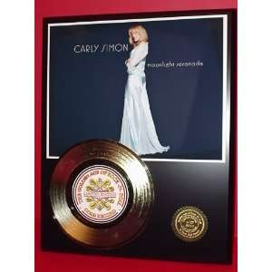 CARLY SIMON GOLD RECORD LIMITED EDITION DISPLAY
