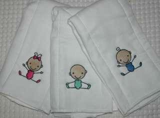 Stick Baby Gift set Burp cloth and Bib Boy, Girl, or Unisex Optional