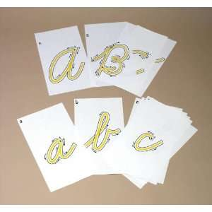 Traceables   Upper/Lower Case Cursive Letters: Office Products