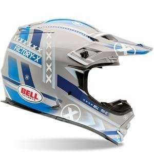 Bell MX 2 Factory X Helmet   X Small/Blue/Grey: Automotive