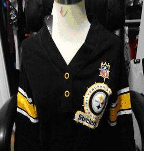 STEELERS Womens V Tunic Top Shirt (size small) sweater