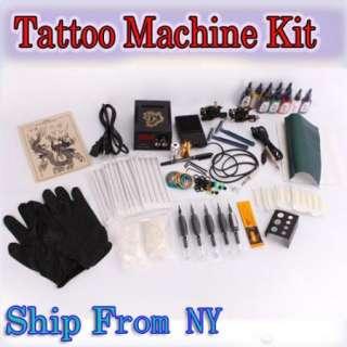 Machines gun 10 color Inks Power supply needles set equipment