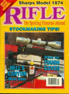 1995 Rifle Magazine Savage Model 116 FSAK Steel Rifle