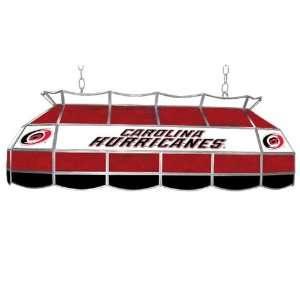 NHL Carolina Hurricanes Stained Glass 40 inch Lighting