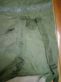 Lot 5 US Army Military Issued Heavy Duty Reinforced Nylon Duffle Bag