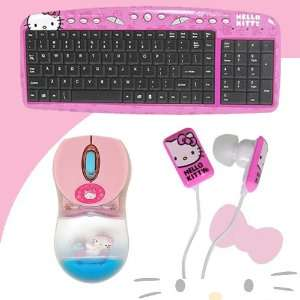 81409 + Hello Kitty In Ear Buds (Pink/White) #11409 HK DavisMAX Bundle
