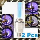 Blue Tire Wheel Led Light Tire Wheel Car Bike cycling Motorcycle Alarm