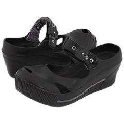 Dr. Scholls Disco Black Patent Pumps/Heels