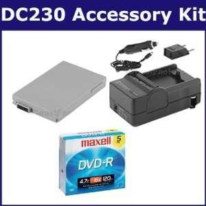 Canon DC230 Camcorder Accessory Kit includes T39918 Tape/ Media, SDM