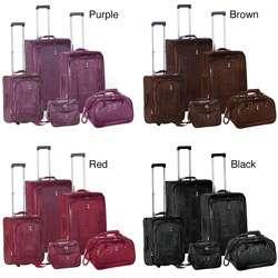 Travel Concepts  Croco 5 piece Luggage Set