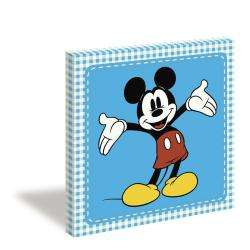 Classic Mickey Mouse Gallery wrapped Canvas Art