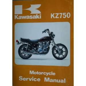 KZ750 Motorcycle Service Manual Ltd Kawasaki Heavy Industries Books