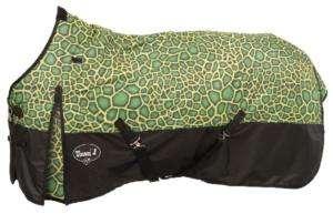 Winter Blanket Turnout Turtle 72 Neon Lime Green Tough 1 Tack