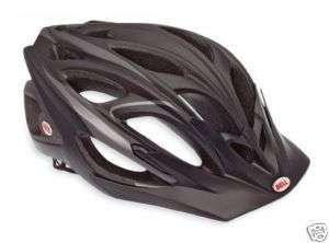 2012 Bell Influx Matte Black/Titanium Bike Helmet Med