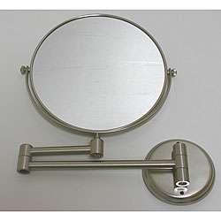 DeNovo Round Wall mount Magnifier Mirror