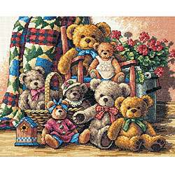 Teddy Bears of the Month Cross Stitch Patterns for Sale at Craft