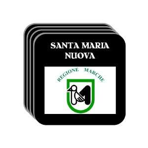 Italy Region, Marche   SANTA MARIA NUOVA Set of 4 Mini