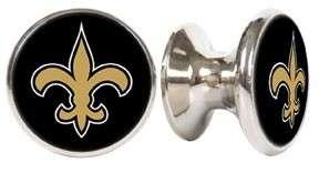 NEW ORLEANS SAINTS NFL DRAWER PULLS / CABINET KNOBS