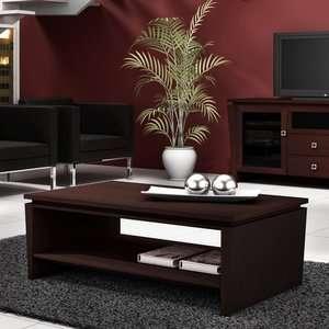 Furnitech Classic Modern Coffee Table in Wenge Furniture