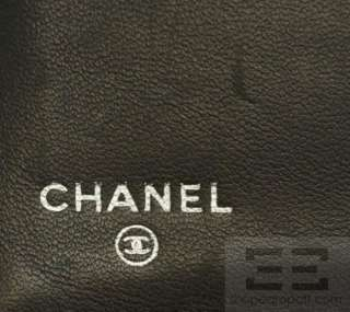 Chanel Black Quilted Lambskin Leather Classic Wallet With Coin Pocket