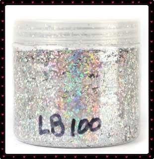 500ml Silver Acrylic Glitter Powder Nail Art Wholesale
