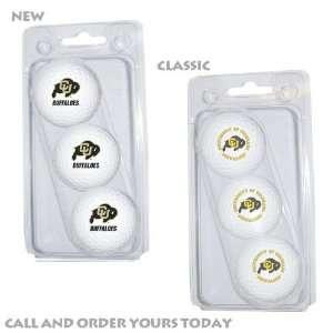 Colorado Buffaloes (University Of) NCAA 15 Golf Ball Pack