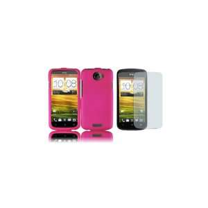 HTC One S (T Mobile) Premium Combo Pack   Hot Pink Hard