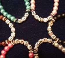 baby personalized bracelet