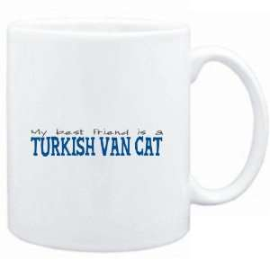Mug White  My best friend is a Turkish Van  Cats