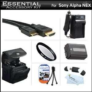 Kit For Sony Alpha NEX F3 NEX C3 NEX 7 NEX 5N Digital Camera