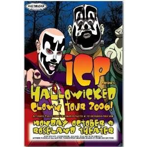 Insane Clown Posse Poster   Concert Flyer   ICP 06 Home