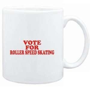 Mug White  VOTE FOR Roller Speed Skating  Sports