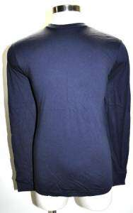 Harley Davidson Mens Long Sleeve Shirt Navy Blue Sz M NEW |