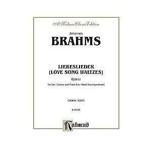 Love Song Waltzes (Liebeslieder Waltzes), Op. 52 Musical
