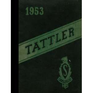 (Reprint) 1953 Yearbook Jacobs High School, Stevens Point