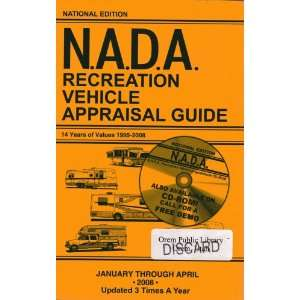 Recreation Vehicle Appraisal Guide: NADA (National