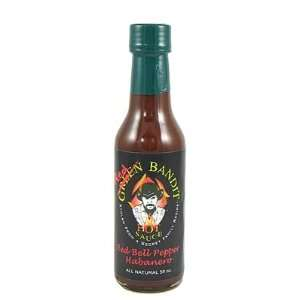 Green Bandit Red Bell Pepper Habanero Hot Sauce, 5oz