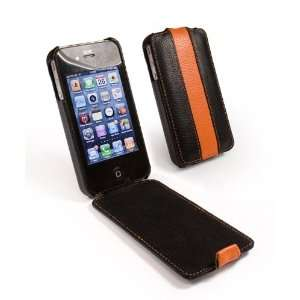 Tuff Grip slim line leather case cover for Apple iPhone 4