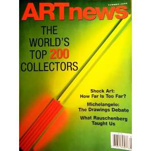 Special Summer Issue 2008 Single Back Issue Art News Magazine Books
