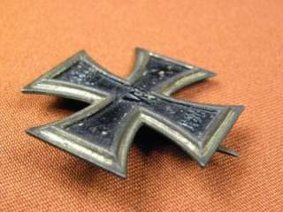 RARE German WW1 Iron Cross 1 Cl. Magnetic Order Medal