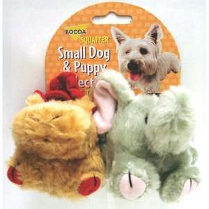BOODA Pet Products Squatter Moose/Elephant Dog Toy (2 Pack) Dogs