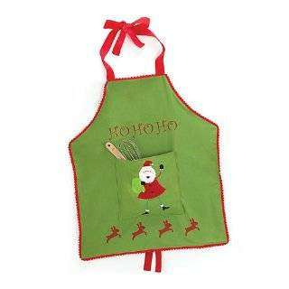 Christmas Official Cookie Dough Taster Kids Apron, Black