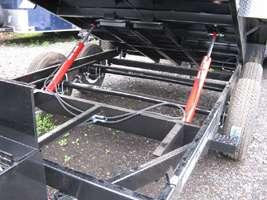 New 2012 Sure Trac 7x14 14k Low Profile Dump Trailer